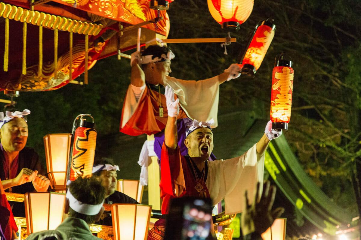 秩父夜祭で本物の祭りを見たという話。